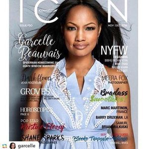Garcelle Beauvais for Icon Magazine. - Фото №1