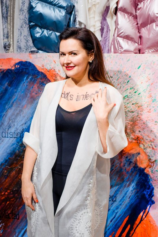 Famous ladies of Ukraine took part in Art Project of Olena Dats' and Serhiy Savchenko- Desinfected. - Фото №9